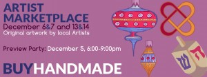 Artist Marketplace – Brookline Arts Center – December 5-7, 2014