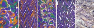 Private Workshop – Paper Marbling – Tuesday, May 5, 2015