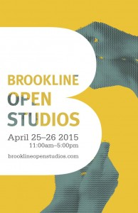 Brookline Open Studios – April 25 & 26, 2015