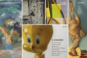 8 Visions – Group Exhibition – Attleboro Arts Museum – August 5-29, 2014