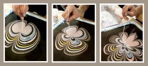 Reminder! This Saturday – Paper Marbling – in my studio April 2, 2016