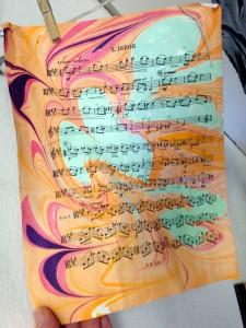 Paper Marbling Workshop – Hajosy Arts studio – Saturday, October 14