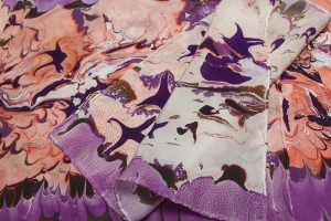 Fabric Marbling – Fuller Craft Museum – Saturday, March 3, 2018
