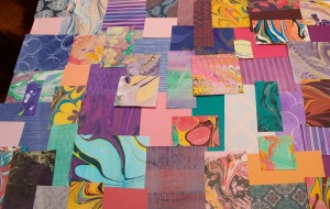 Winter Paper Marbling Workshops at Hajosy Arts