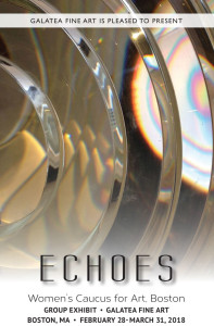 Echoes – Women's Caucus for Art group show – Galatea Fine Art, SOWA, Boston