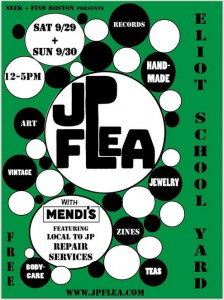 JP Flea – Outdoor Market – Eliot School yard – Sunday, September 30