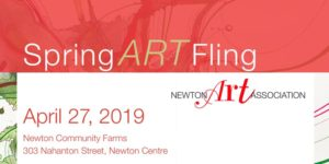 Newton Art Association – Spring Art Fling – April 27, 2019