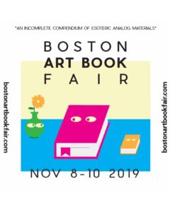 Hajosy Arts/Vagonion at Boston Art Book Fair – Nov 8-10 at Boston Cyclorama