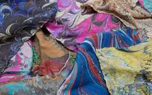 Marbling on Fabric – The Eliot School – Sunday, October 29, 2017