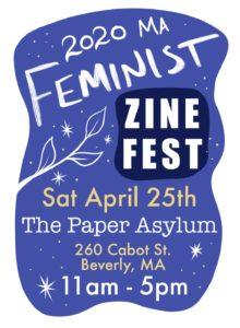 Vagonion at MA Feminist Zine Festival – April 25 – Beverly – CANCELED