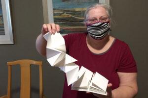 Lotus/Origami Artist's Books – Workshop at LexArt